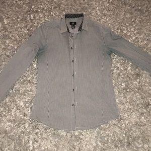 Lined long sleeve shirt